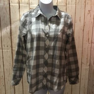 Vineyard Vines Relaxed Buffalo Check Flannel Top 0
